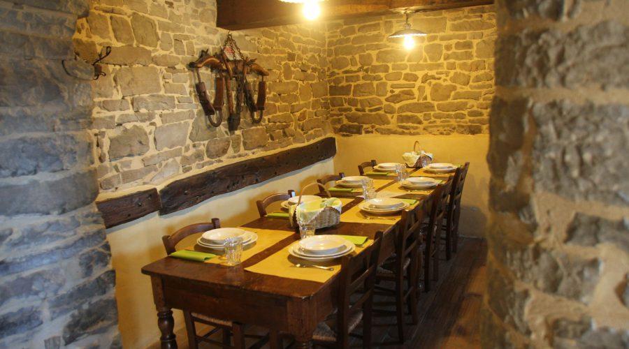 Sala da pranzo Ca' d'Alfieri
