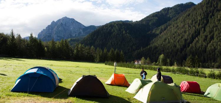 Terra viaggi tende-campeggio-ragazzi