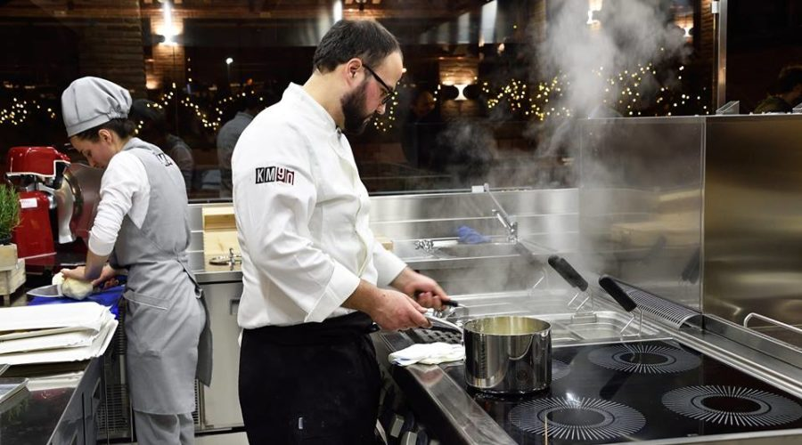 KM90 cuochi cucina