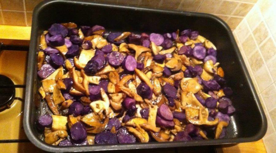 Casanuova funghi e patate viola