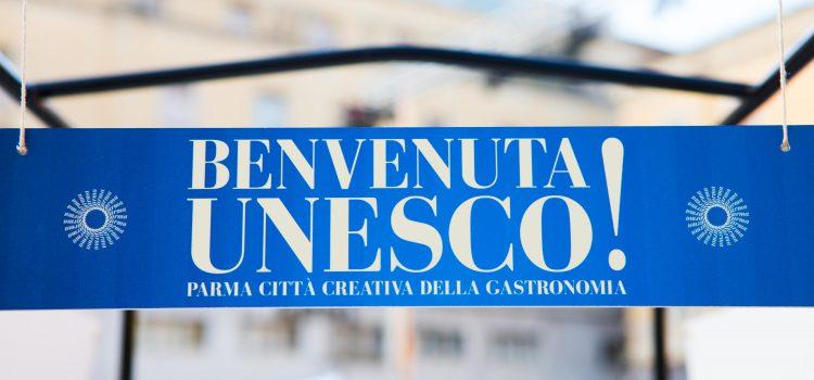 Benvenuta Parma Città Creativa Unesco per la Gastronomia
