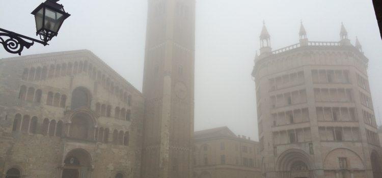 piazza garibaldi nella nebbia