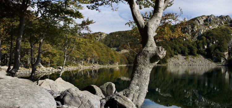 Vista del Lago Santo