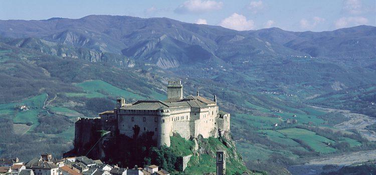 Vista del Castello di Bardi