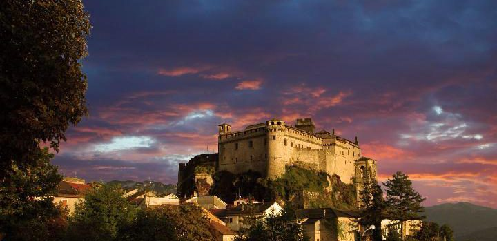 castello bardi tramonto