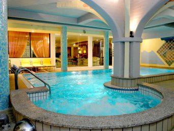 La piscina della terme di Salsomaggiore