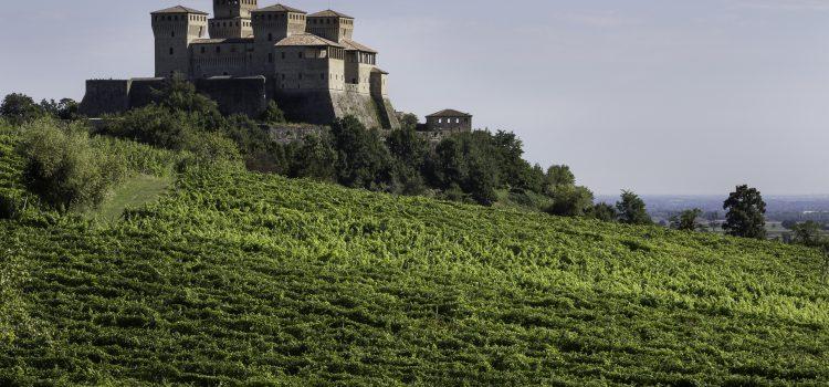 Castello di torrechiara vista