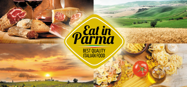 Eat in Parma collage