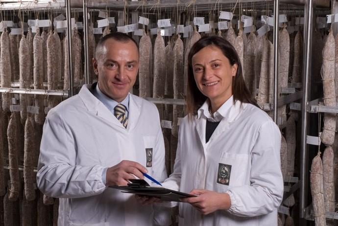 Cristina e PaoloPongolini la fattoria
