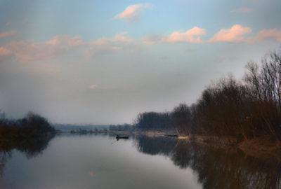 Michelle Costa fiume Po