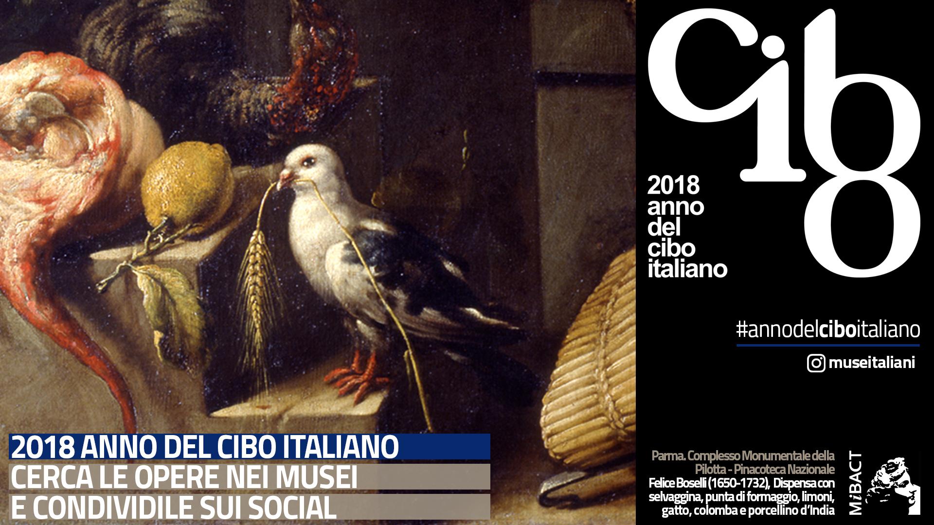 Anno del cibo italiano- opera conservata alla Galleria Nazionale di Parma