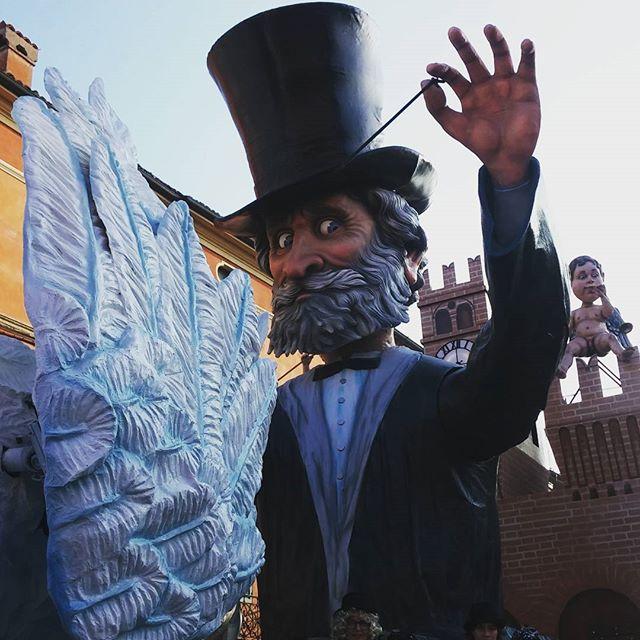 Giuseppe Verdi al Carnevale di Busseto
