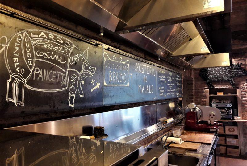 hosteria del Maiale cucina