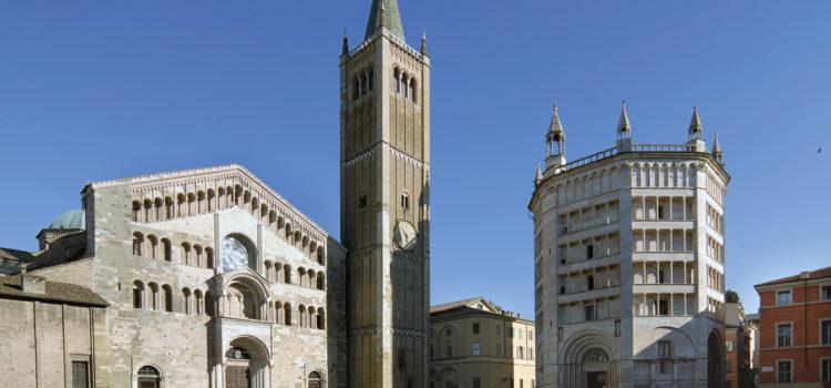 Parma - Piazza Duomo Battistero