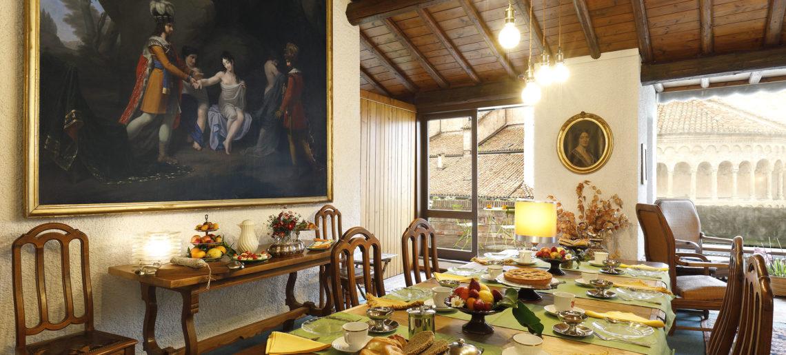 La terrazza sul duomo sala colazione con quadro