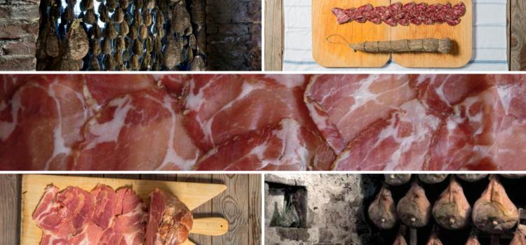 Top five salumi Parma