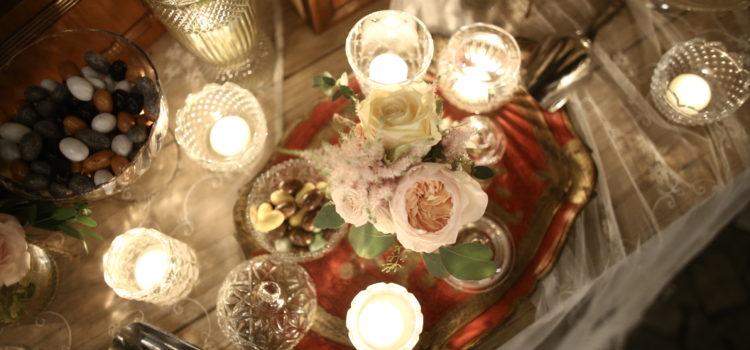 candele e confetti Zamboni Antonella