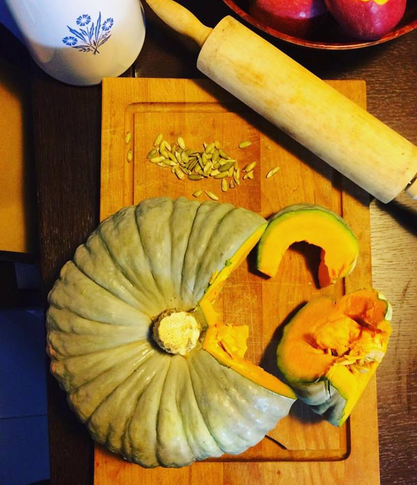 The preparation of pumpkin tortelli by Tortelli and Co