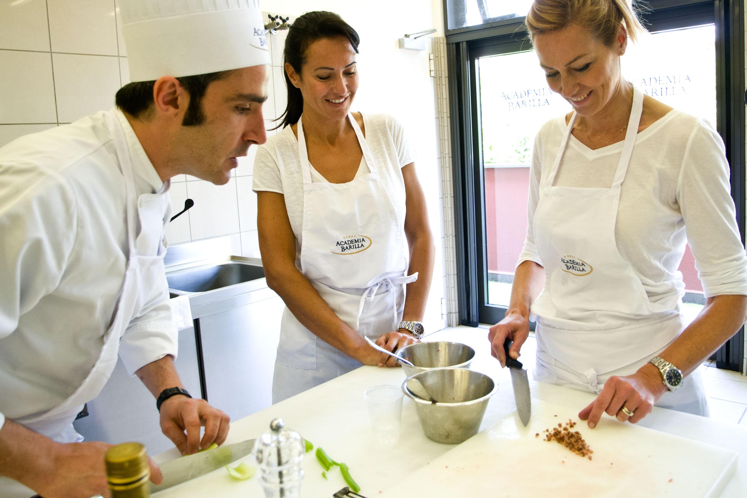 Corso di cucina presso Academia Barilla