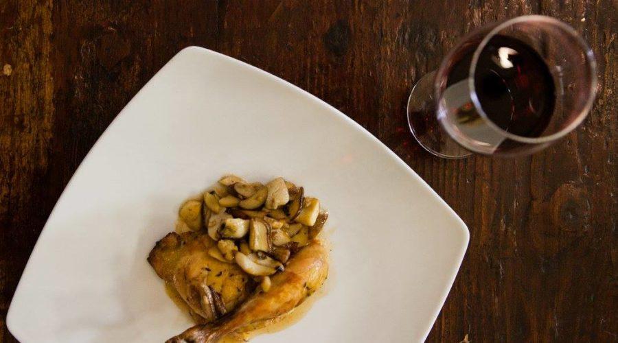 pollo funghi e vino_al_fondo