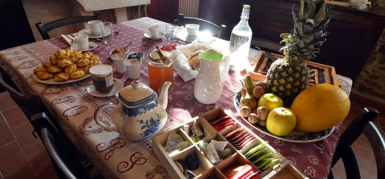 B&B Della Canadella colazione
