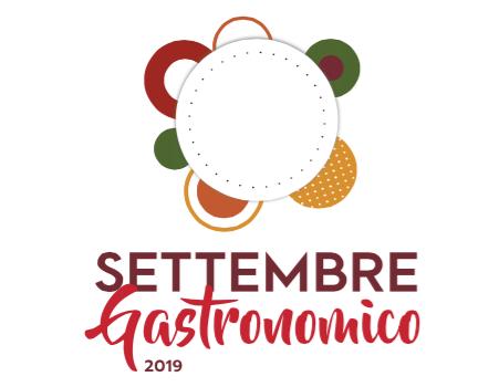 logo settembre gastronomico