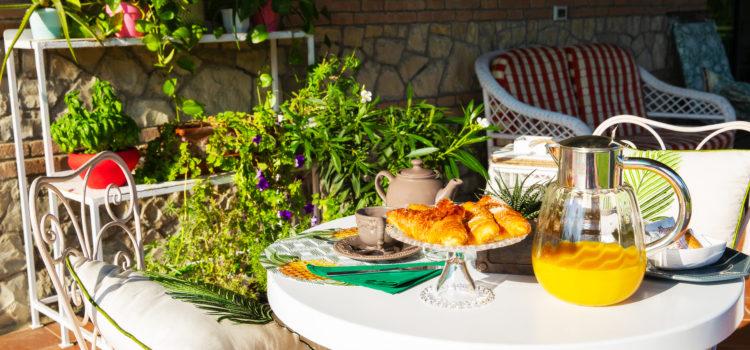 podere calvi parisetti colazione esterno
