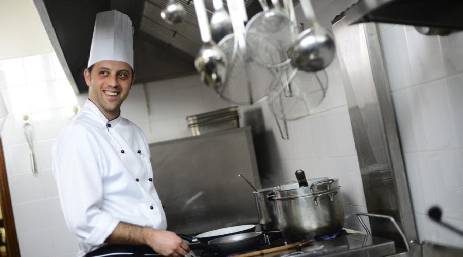 Chef dell'agriturismo Cavalca
