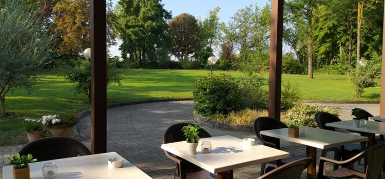 colazione giardino hotel tre ville