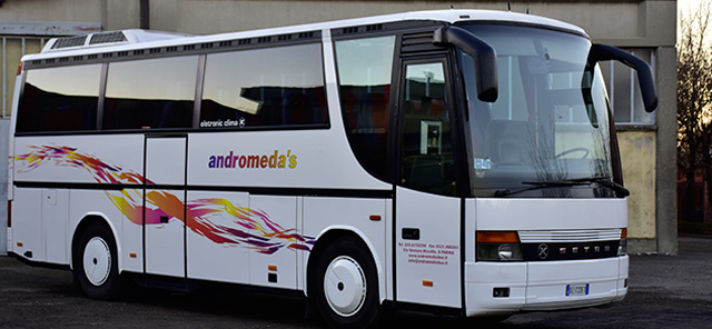 andromeda bus scuole