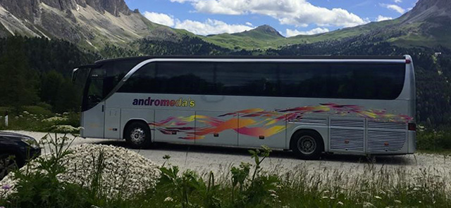 andromeda bus tour