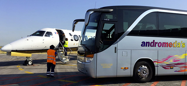 andromeda bus transfer