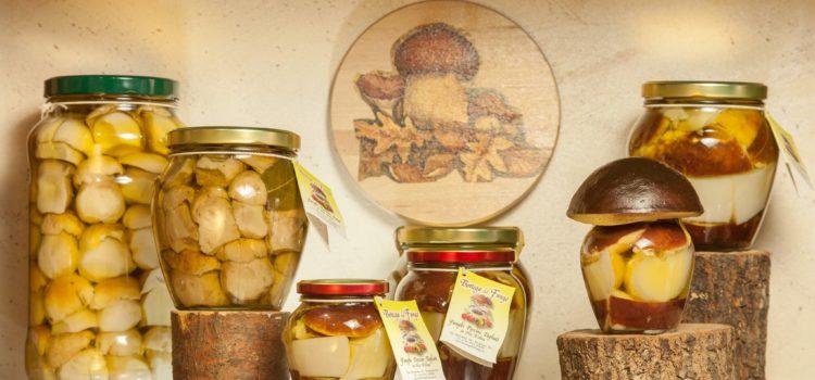 bottega del fungo vasetti sott'olio